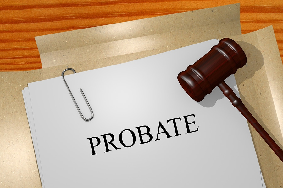 business assets and probate