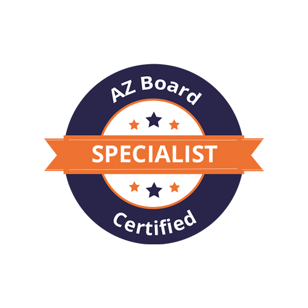 AZ Board Certified Specialist Badge